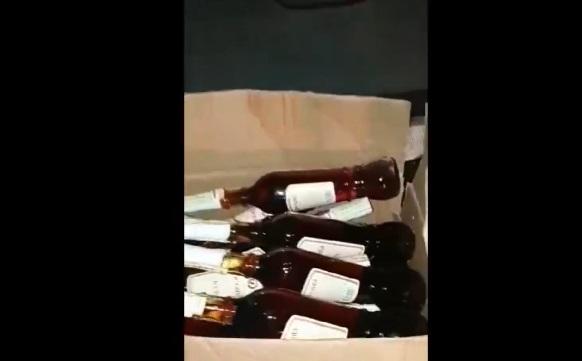 """Полицейские конфисковали партию """"левого"""" алкоголя на 10 000 леев"""
