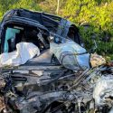Один человек погиб, двое получили травмы в ДТП в Новых Аненах