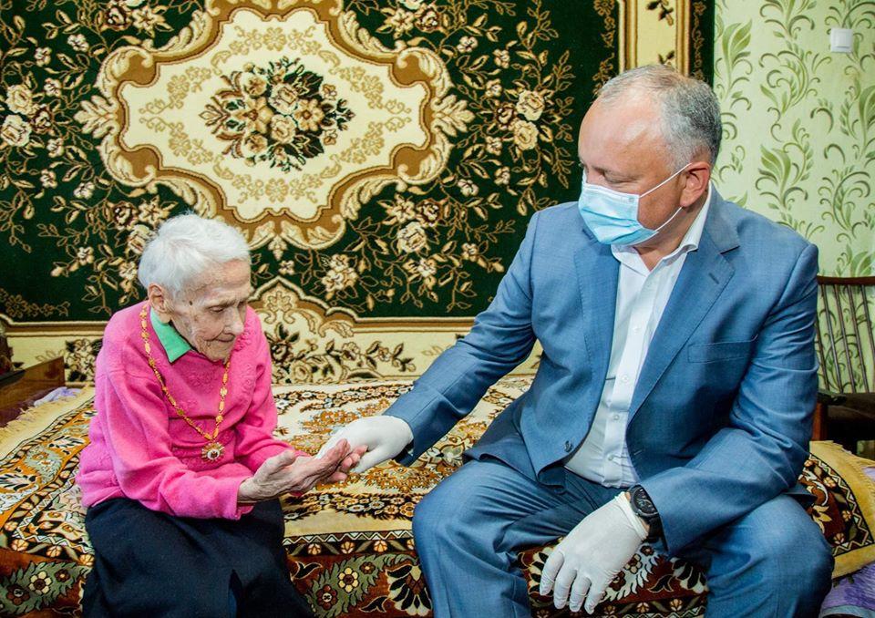 Президент вручил Орден Республики еще одному ветерану ВОВ (ФОТО, ВИДЕО)