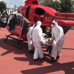 Экипаж SMURD доставил пострадавшего в ДТП пациента из Рышкан в Кишинёв (ФОТО, ВИДЕО)