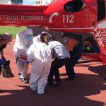 Экипаж SMURD доставил в Кишинёв мужчину, пострадавшего в ДТП в Сынжерей