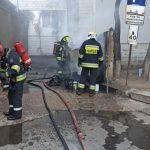 Пожарные потушили возгорание во дворе дома на Ботанике (ФОТО)
