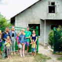 Президент инициировал кампанию по сбору средств на ремонт сгоревшего дома многодетной семьи (ФОТО)
