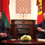 Игорь Додон поздравил Александра Лукашенко с победой на президентских выборах