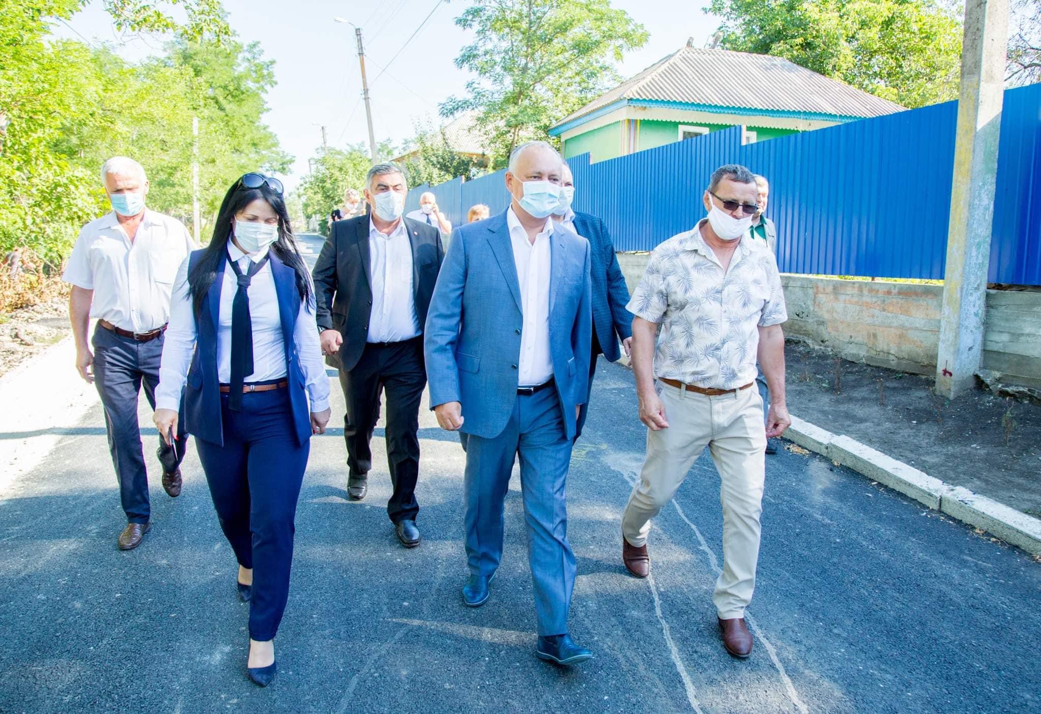 Игорь Додон совершает визит в Теленештский район (ФОТО)
