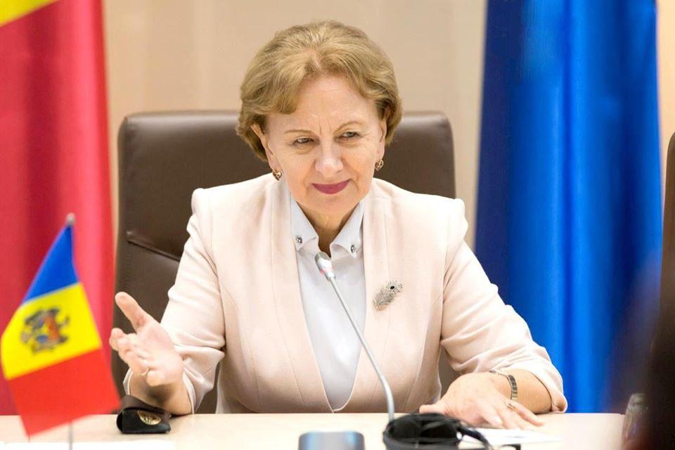 Зинаида Гречаный присоединилась к поздравлениям в адрес работников финансовой системы