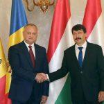 Додон поздравил президента Венгрии с национальным праздником этой страны