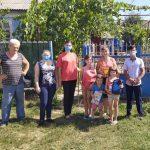 Молодогвардейцы помогли многодетной семье в Унгенах