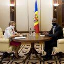 Зинаида Гречаный провела встречу с послом США в Молдове