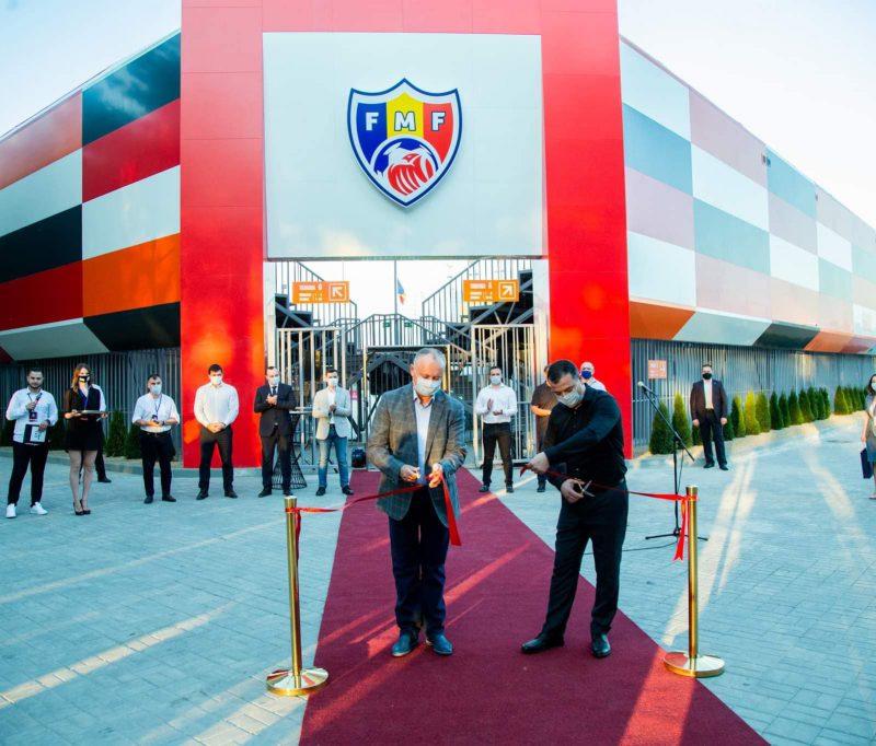 В парке «La izvor» открыли пляжный стадион. В церемонии принял участие глава государства (ФОТО, ВИДЕО)