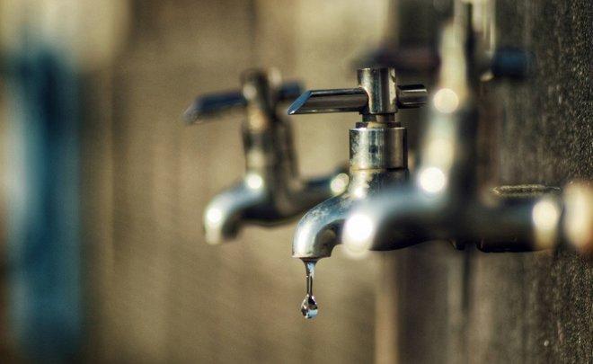 Отключения воды запланированы по ряду адресов в столице