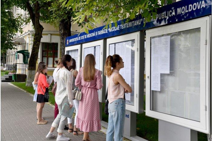 Молдавские вузы объявили первые результаты зачисления