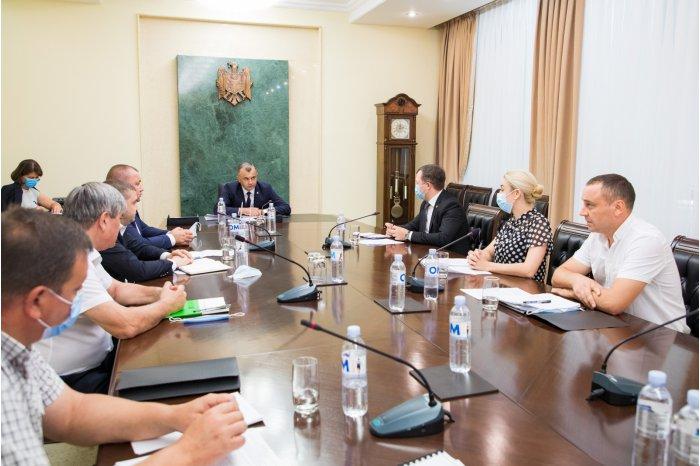 В правительстве обсудили вопрос водоснабжения Глодянского района