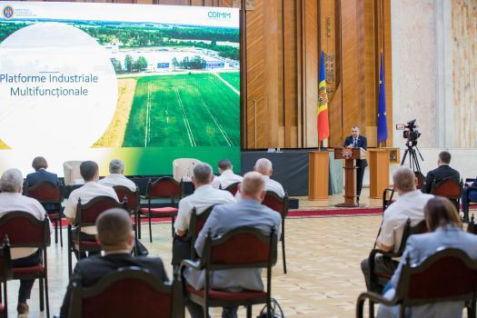 Премьер встретился с председателями 16 районов, в которых будут созданы многофункциональные промышленные платформы