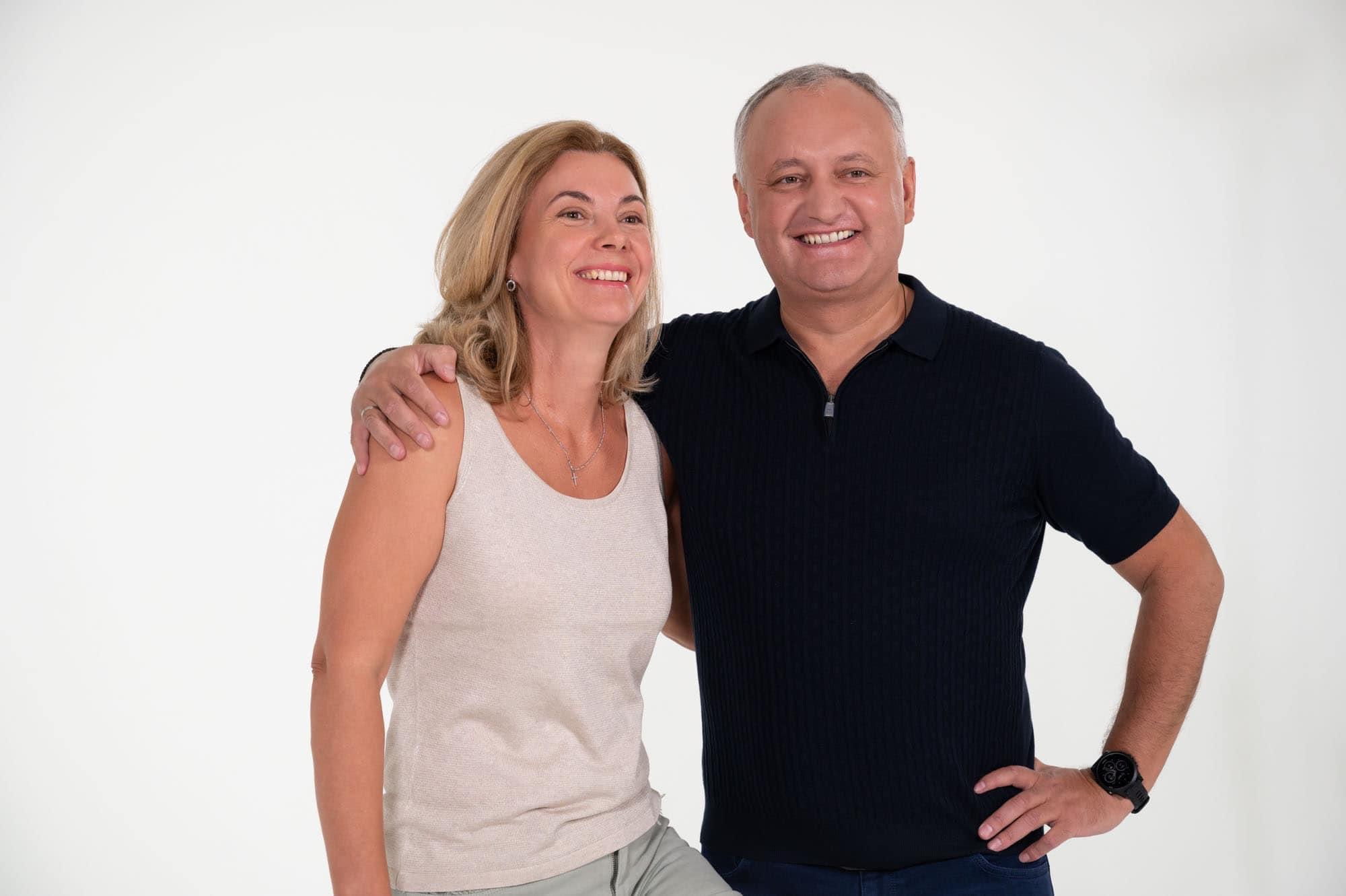 Игорь и Галина Додон отмечают опаловую свадьбу