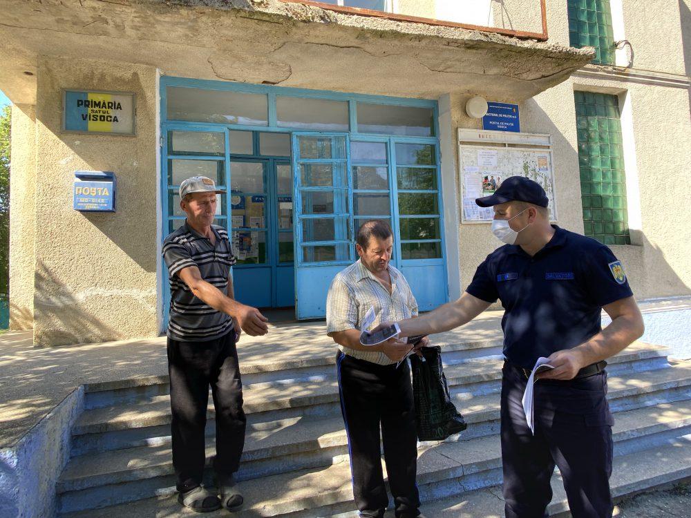ГИЧС продолжает информировать граждан о профилактических мерах против COVID-19 (ФОТО)