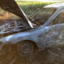ЧП на Кучурганском водохранилище: сгорел автомобиль отдыхающего