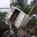 """Пьяный водитель """"Жигули"""" снёс газовую опору в Слободзее"""