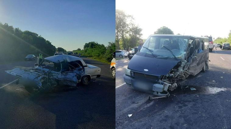 Цепное ДТП в Кожушне: машины разбились всмятку, водитель погиб (ФОТО)
