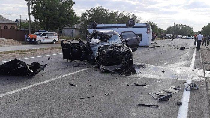 ДТП в Штефан-Водэ: пешеход и пассажир Audi находятся в тяжёлом состоянии