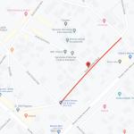 Движение на одной из улиц Кишинева будет перекрыто до 5 октября