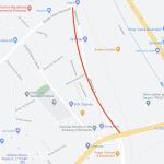 Водителям на заметку: участок улицы Албишоара перекрыт на 3 недели