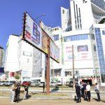 С ремонтируемых улиц и парков столицы эвакуируются рекламные панно (ФОТО, ВИДЕО)