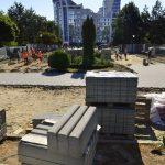На Рышкановке продолжают обустраивать парки