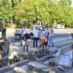 Генпримар посетил улицу Албишоара: ведутся работы по модернизации ливневой канализации (ФОТО, ВИДЕО)