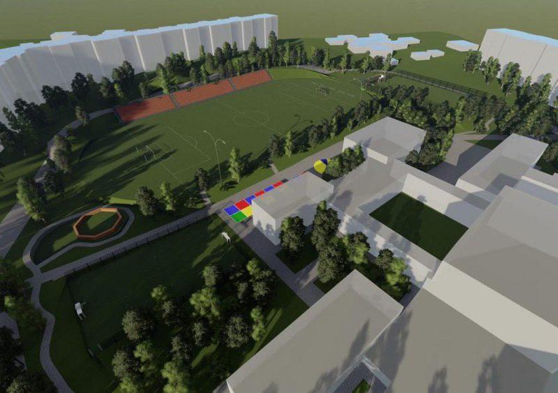 На Чеканах будет создана футбольная академия для детей и молодёжи (ФОТО)