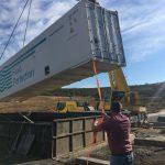 На свалке в Цынцэренах устанавливают станцию по очистке сточных вод (ФОТО)