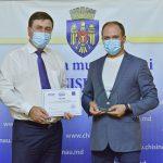 Примария Кишинёва получила награду за транспарентную деятельность (ВИДЕО)