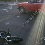 В Бендерах сбили несовершеннолетнего велосипедиста