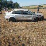 Ещё одна авария. Машина перевернулась, водитель погиб