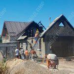 Неисправная проводка привела к пожару в частном доме