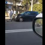 Цепное ДТП на Буюканах: столкнулись четыре машины (ВИДЕО)
