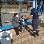 ГИЧС продолжает мероприятия по профилактике COVID-19 (ФОТО)