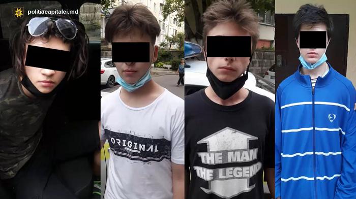 В столице четверо подростков ограбили прохожего (ВИДЕО)