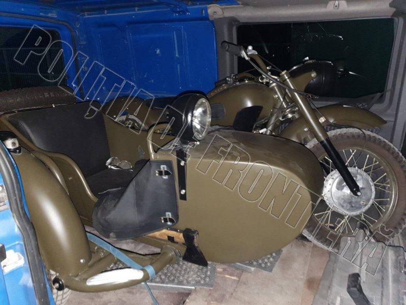 Мужчина пытался тайком вывезти из Молдовы незаконно переоборудованный мотоцикл (ФОТО)
