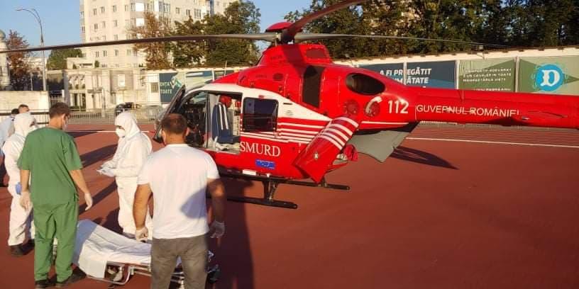 Жителя Сорок с ожогами доставили в Кишинев для медицинской помощи (ВИДЕО)