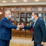 Встреча Додон - Чебан. Глава государства высоко оценил деятельность мэра Кишинева (ФОТО, ВИДЕО)