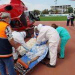 Экипаж SMURD доставил пострадавшего в ДТП пациента из Чимишлии в Кишинев (ФОТО)