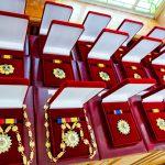За многолетний добросовестный труд: группа врачей получила ордена и медали от президента (ФОТО, ВИДЕО)