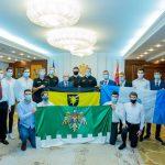 Президент заверил самых сильных волейболистов страны в своей дальнейшей поддержке (ФОТО, ВИДЕО)