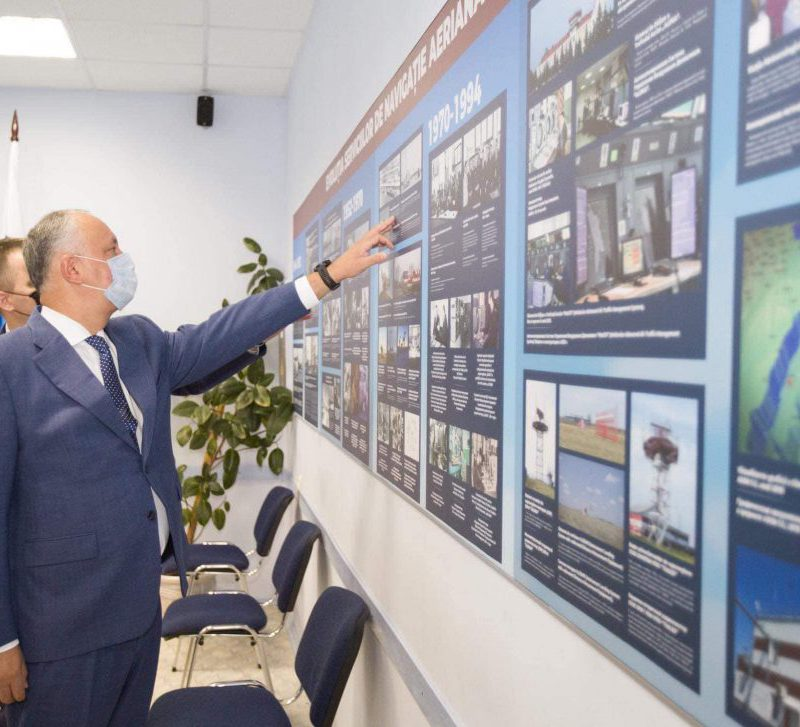 Додон: Нормальное функционирование гражданской авиации и обеспечение авиационной безопасности очень важны (ФОТО, ВИДЕО)