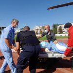 Пострадавшего в ДТП в Румынии молдаванина доставили на вертолёте в Кишинёв