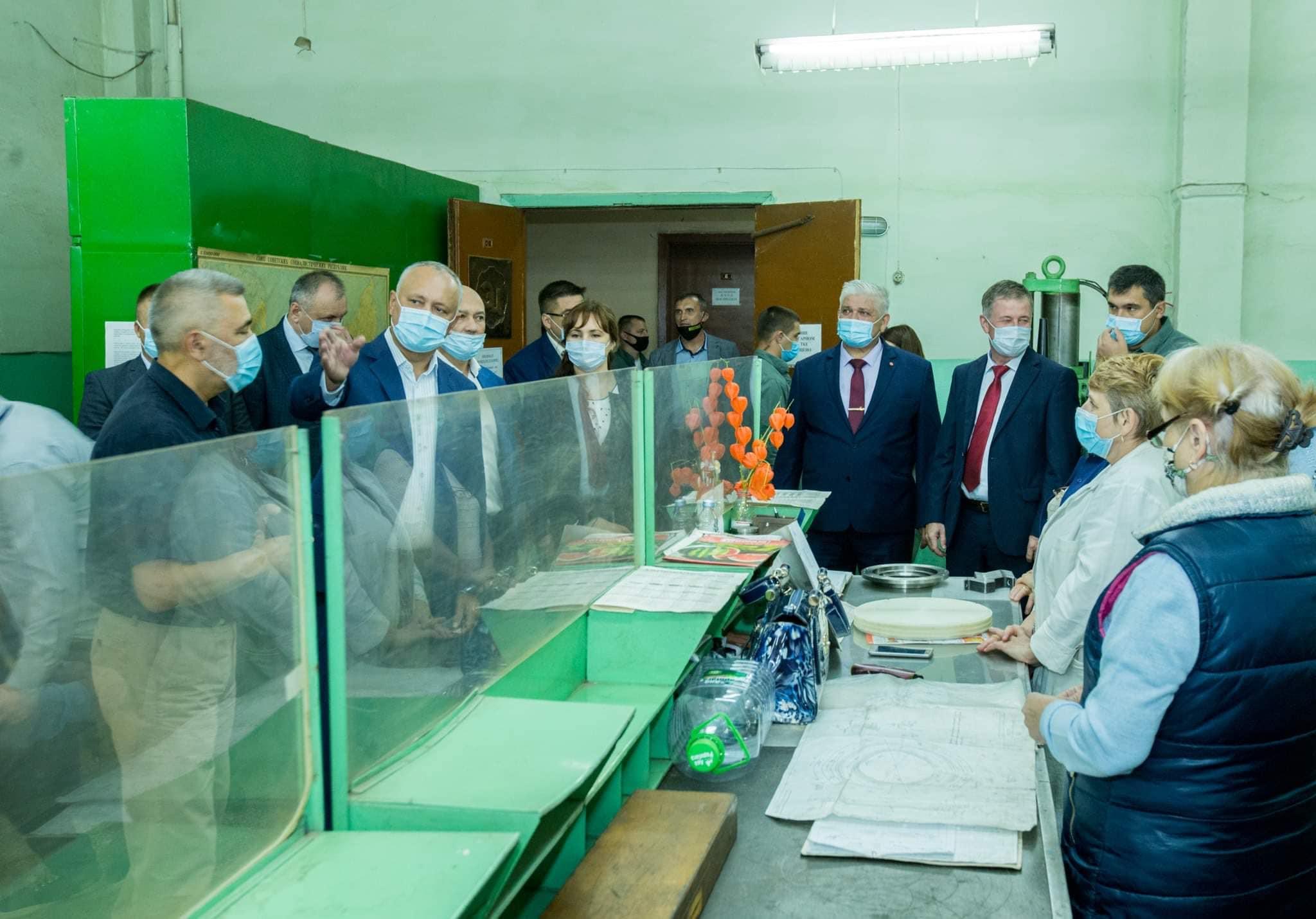 Глава государства приложит усилия для поиска инвесторов с целью развития бельцкого НИИ «RIF ACVAAPARAT» (ФОТО, ВИДЕО)