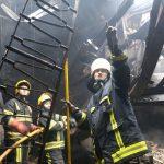 Пожар в Национальной филармонии: выдвинуты три версии случившегося