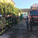 Пожар в Филармонии: сотрудники ГИЧС демонтируют конструкции, которые могут обрушиться