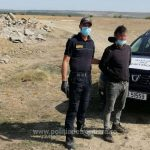 Переплыл Прут, чтобы попасть в Румынию: молдаванина-нарушителя поймали
